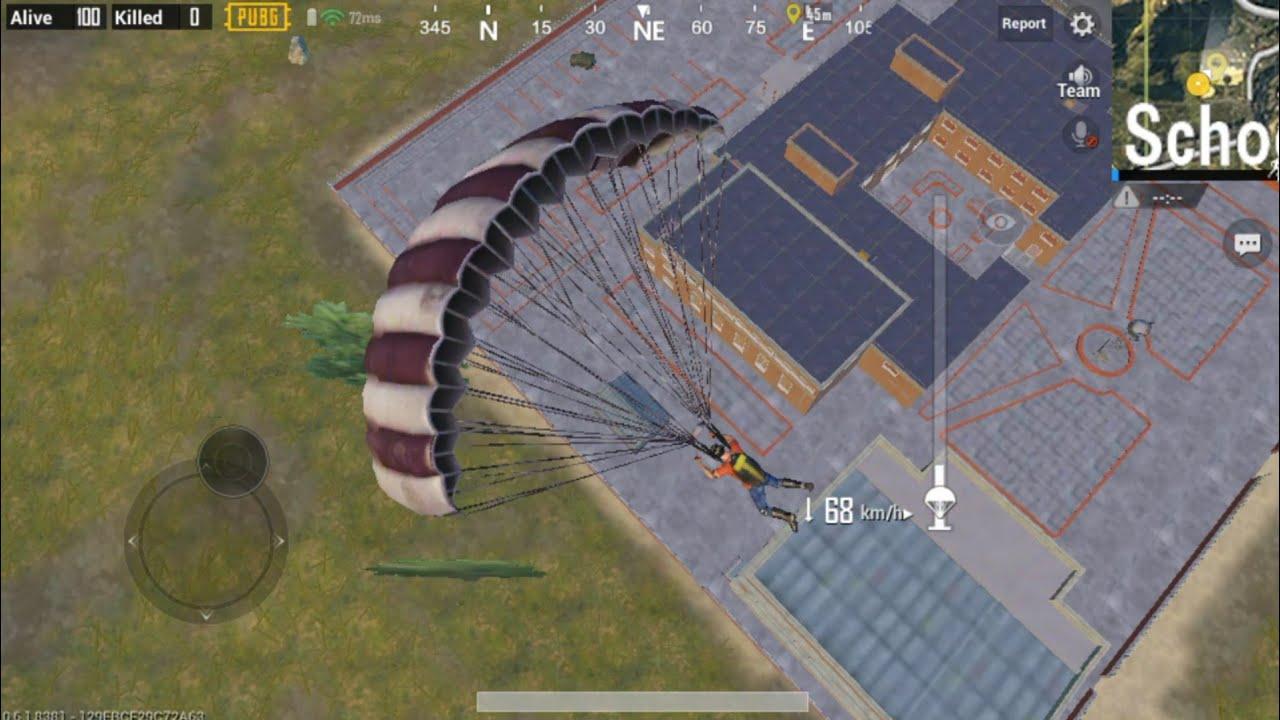 PUBG Mobile paraşüt
