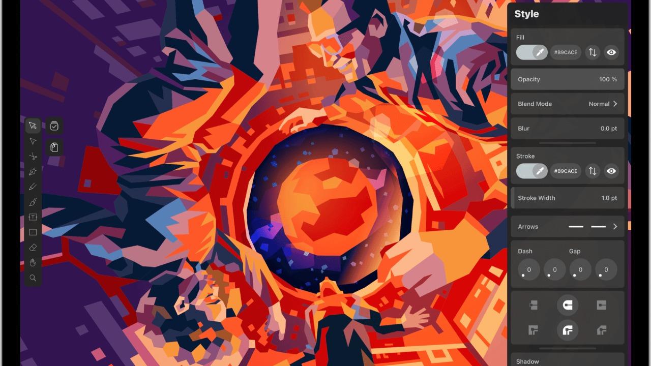 Adobe Illustrator ile yapılmış bir çizim