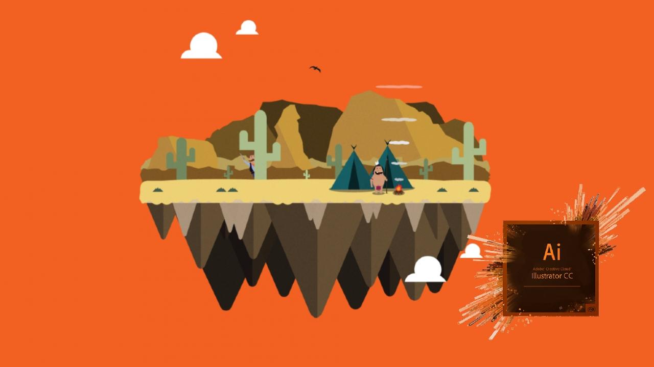 Adobe Illustrator ile yapılmış bir tasarım