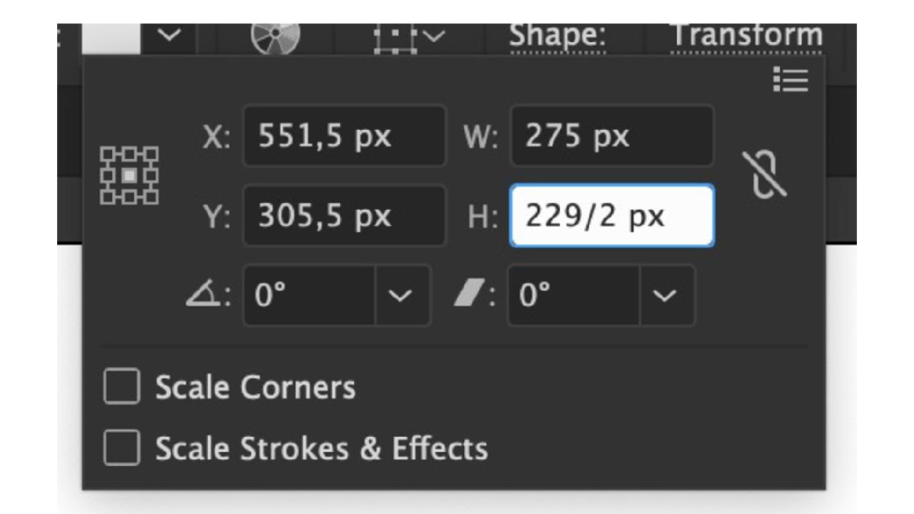 Adobe Illustrator ile boyut hesaplama