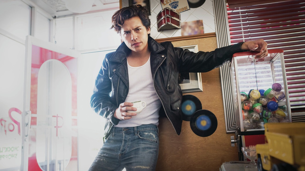 Cole Sprouse playing Jughead