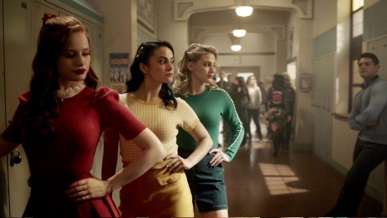 Cheryl, Veronica and Betty respectively