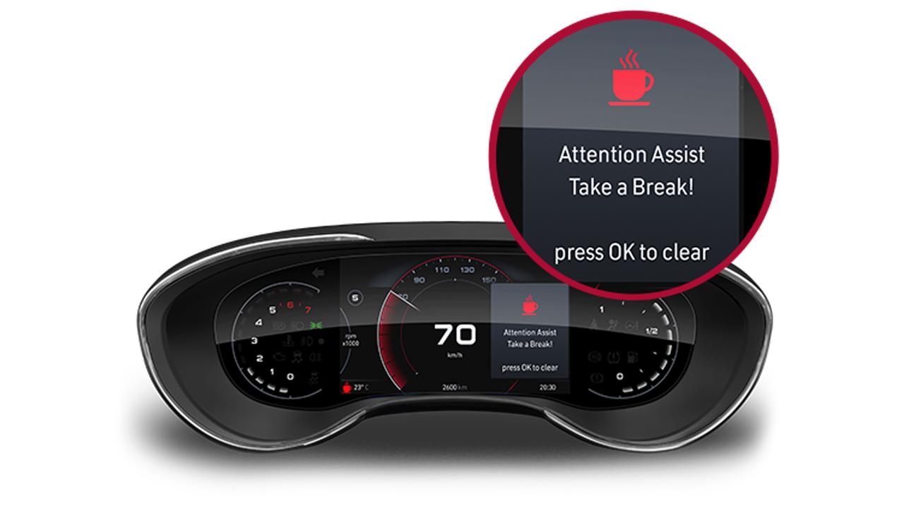 Fiat Egea yorgunluk uyarı asistanı