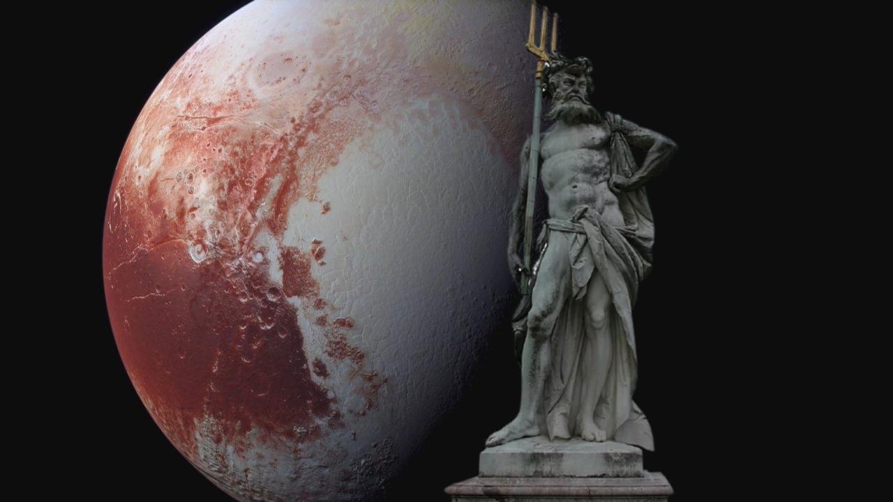 Gezegen Plüton ve Roma mitolojisinde yeraltı tanrısı olan Plüton