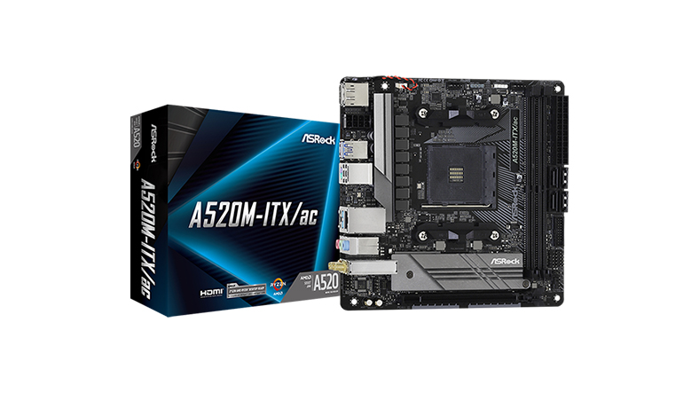 ASRock A520M ITX/ac