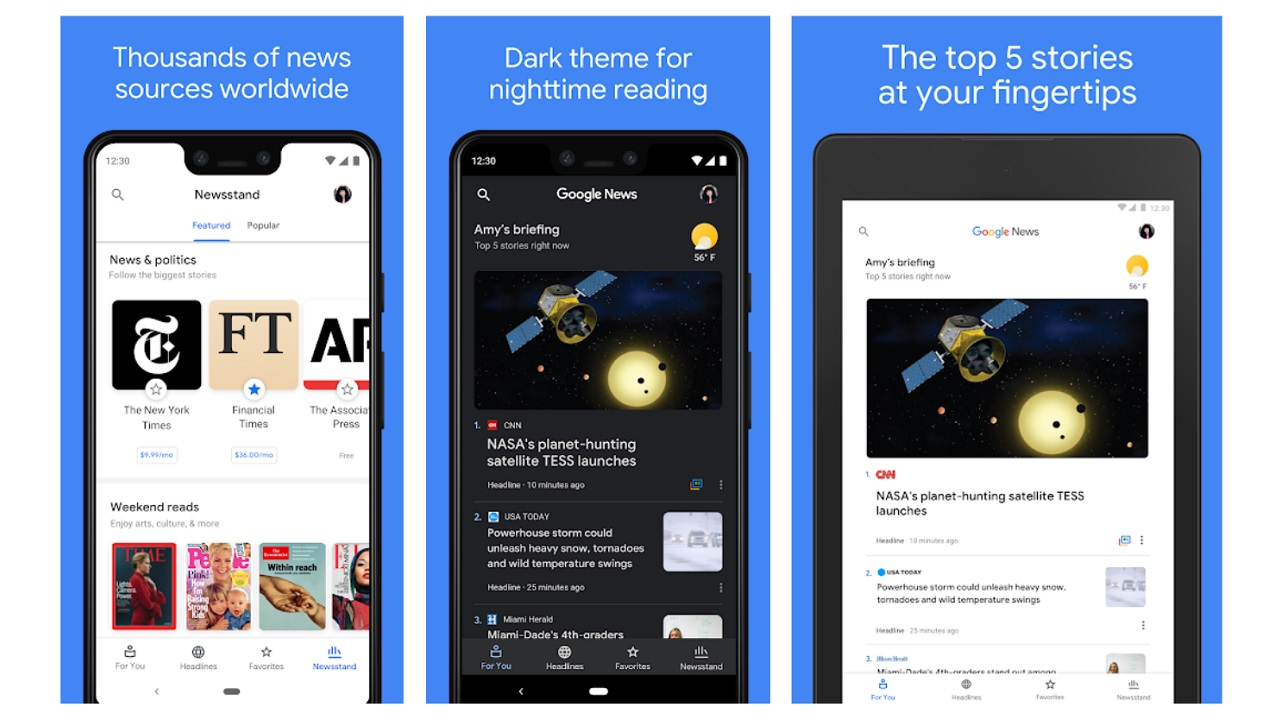 google news, android