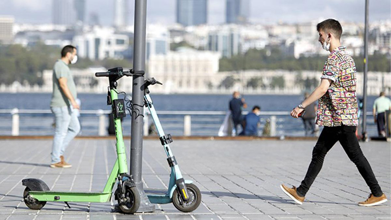 elektrikli scooter istanbul