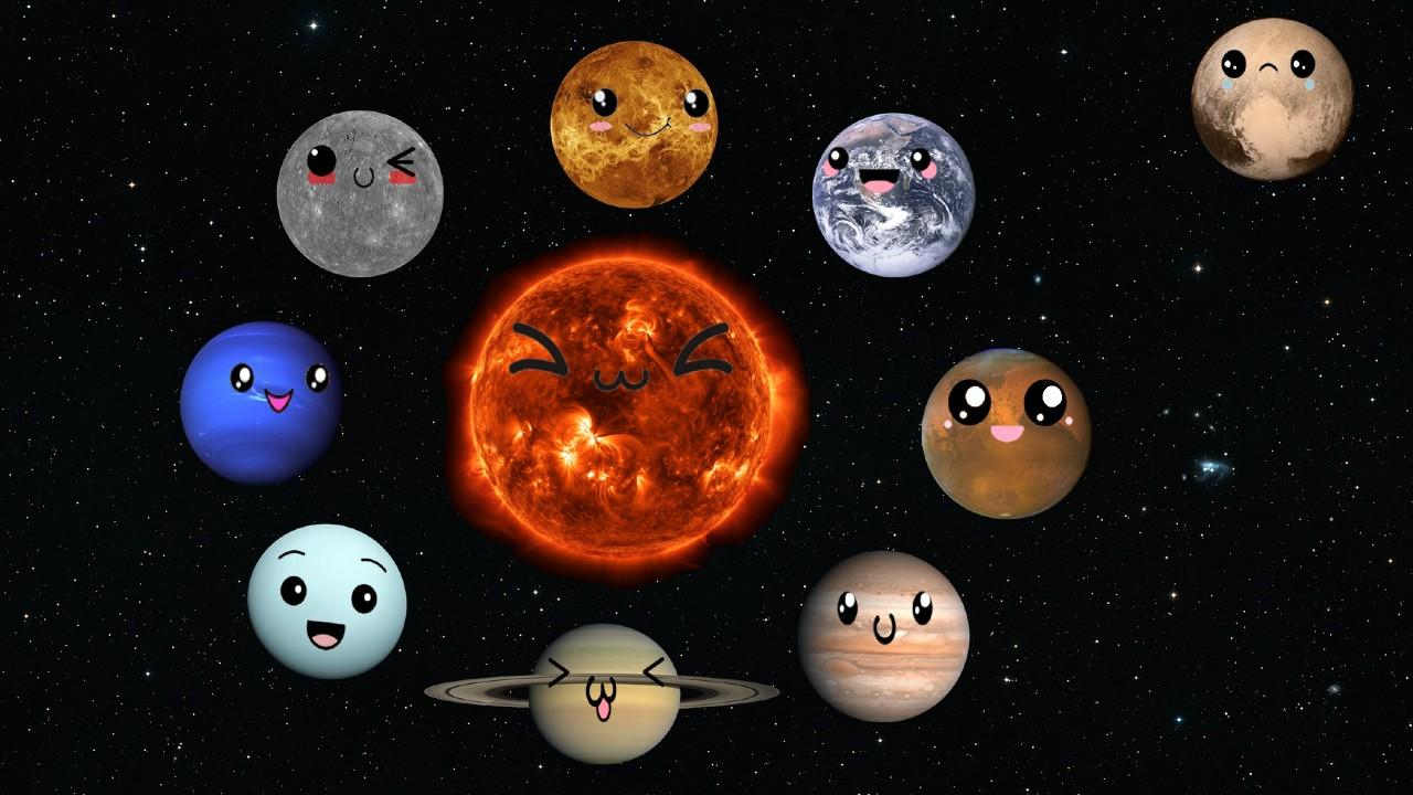 Güneş sistemi gezegenleri ve Plüton