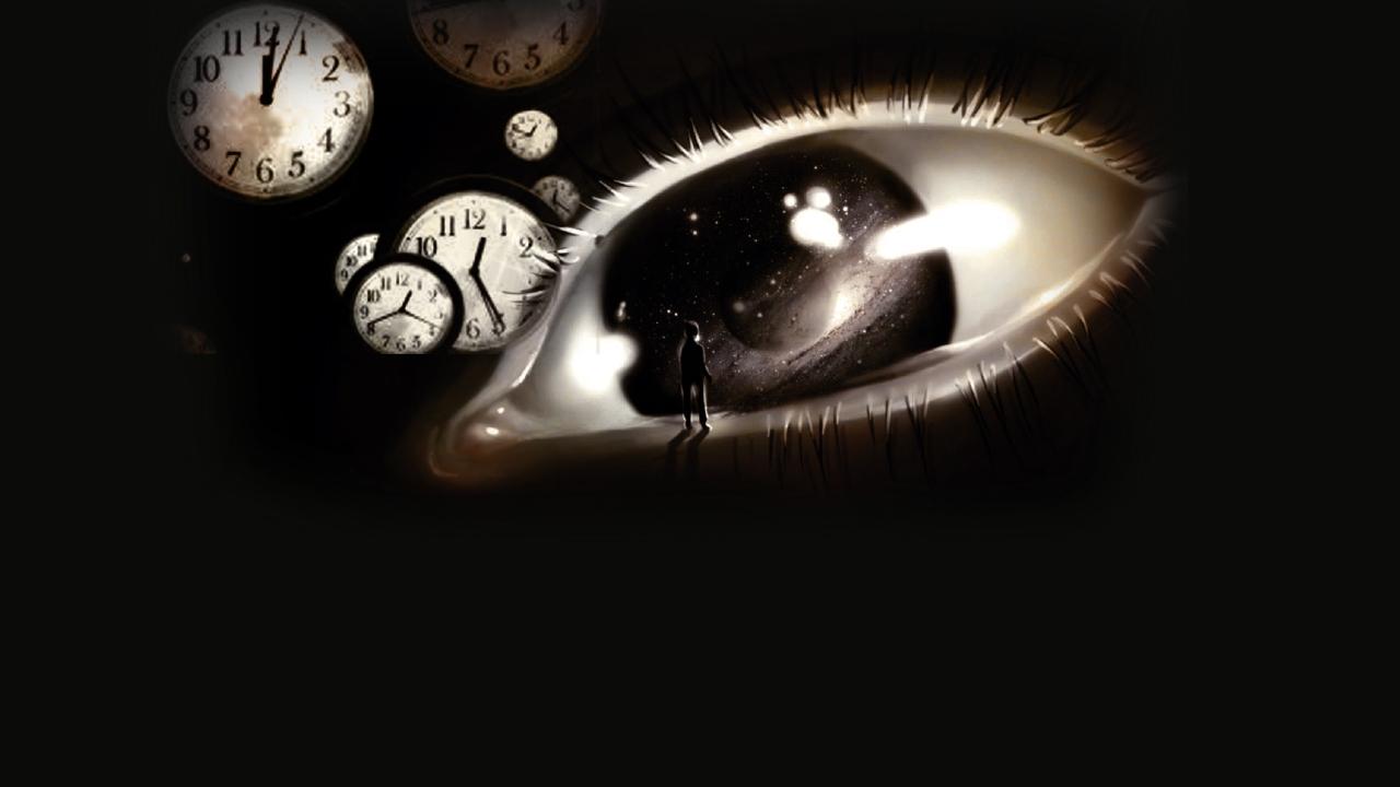 Bir adet göz ve saatler