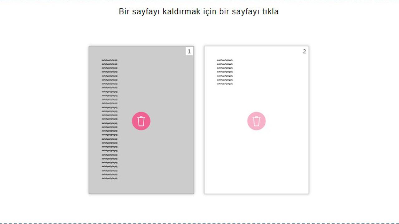 PDF sayfa silme