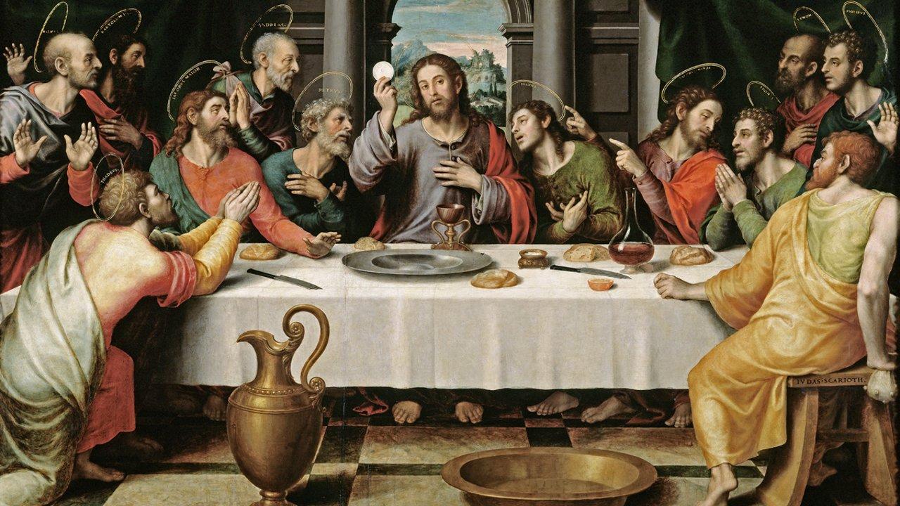 The Last Supper - Juan de Juanes