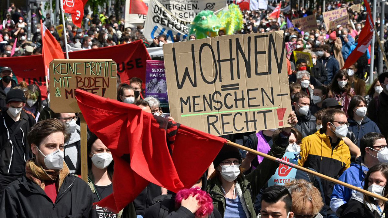Germany rent protest