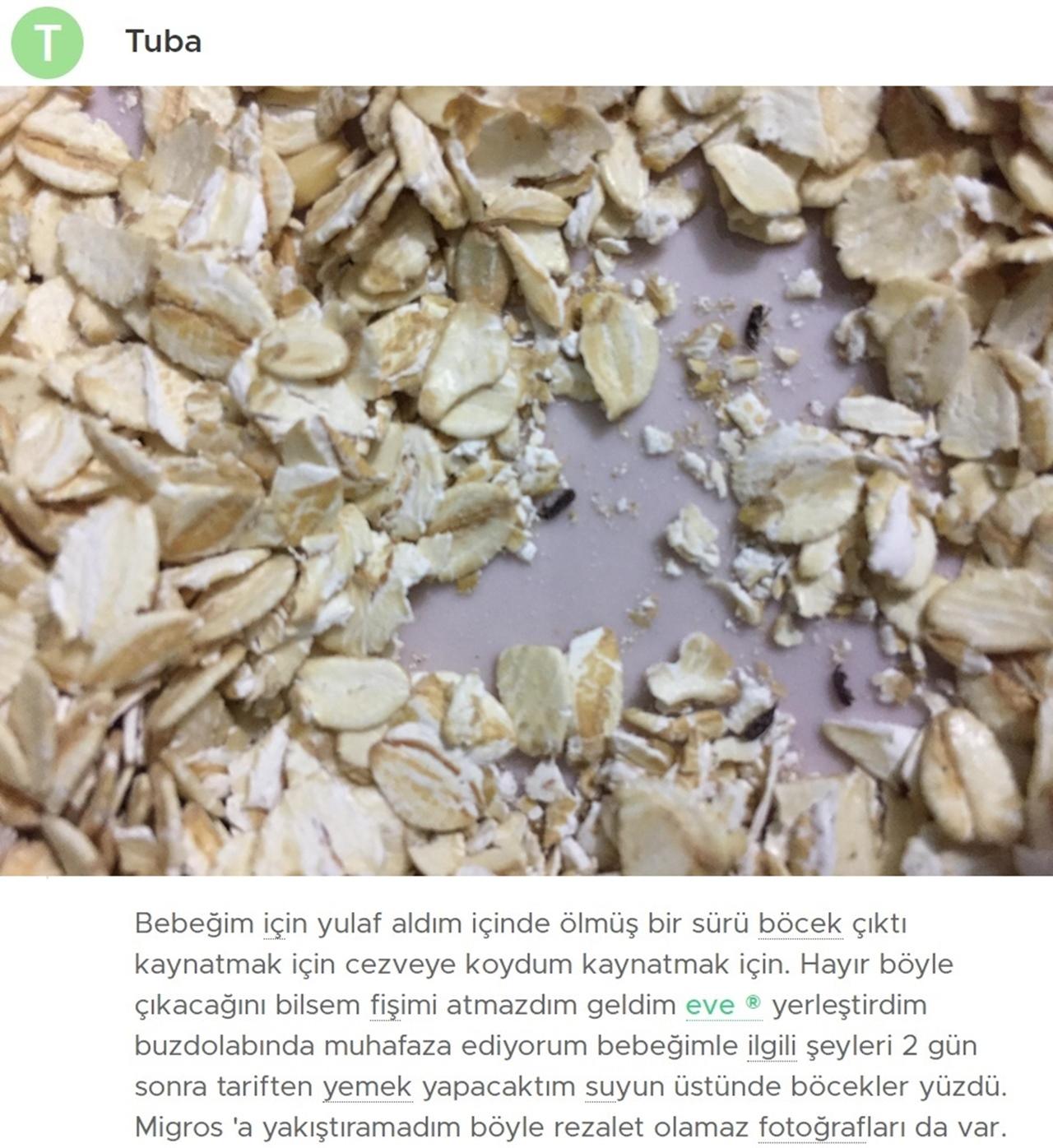 migros böcek yulaflar