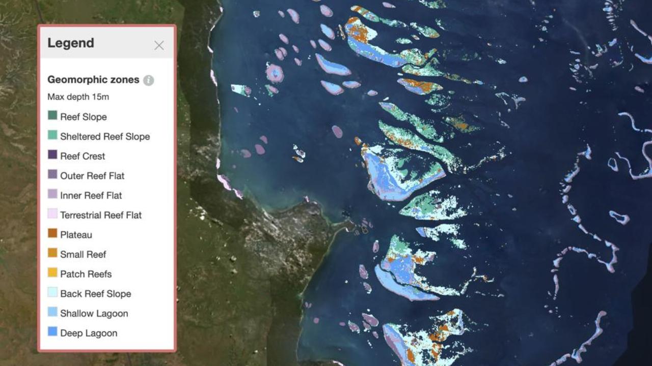 resif haritası