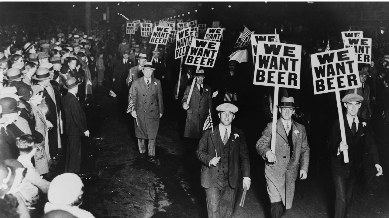 Amerika içki yasağı
