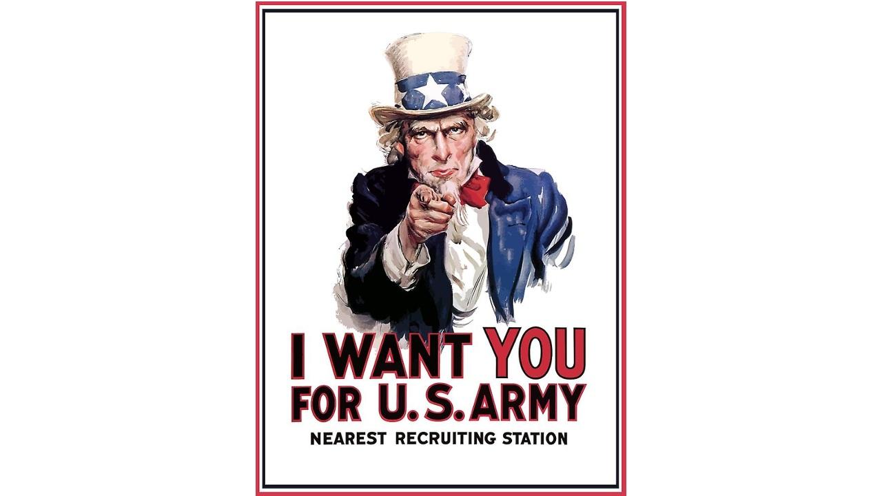 'Sam amca' savaş propagandası