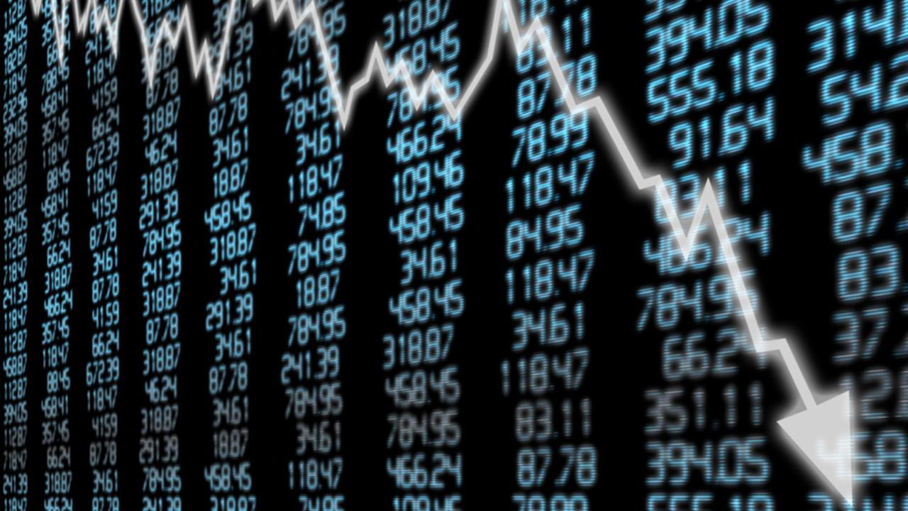 Borsa düşüşü