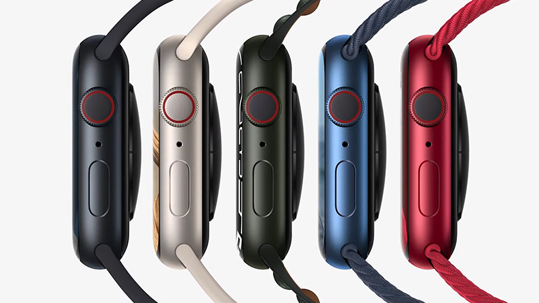 apple watch series 7 color options