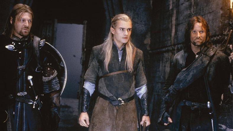 Boromir, Legolas and Aragorn