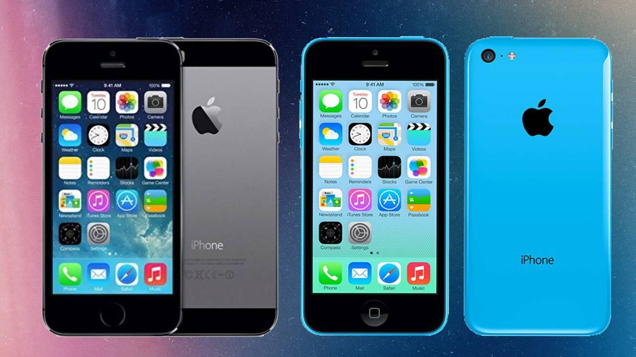 iPhone 5S ve iPhone 5C